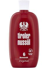 TIROLER NUSSÖL - tiroler nussöl original Sonnenöl wasserfest LSF 6 - SONNENCREME