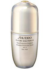 Shiseido Future Solution LX Total Protective Emulsion SPF 18 Reinigungsschaum 75.0 ml