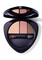 Dr. Hauschka Augen Eyeshadow Trio Lidschatten Palette 4.4 g Nr. 04 - Sunstone