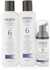 NIOXIN - NIOXIN Hair System Kit - 6 - normales bis kräftiges, naturbelassenes oder chemisch behandeltes Haar - sichtbar abnehmende Haardichte - CONDITIONER & KUR