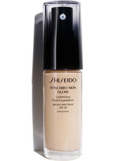 Shiseido Make-up Gesichtsmake-up Synchro Skin Glow Luminizing Fluid Foundation Nr. N1 Neutral 1 30 ml