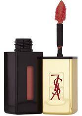 Yves Saint Laurent Make-up Lippen Rouge Pur Couture Vernis a Lèvres Nr. 07 Corail Aquarelle 6 ml