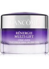 LANCÔME - Lancôme Rénergie Multi-Lift Light Cream for All Skin Types 50ml - Tagespflege