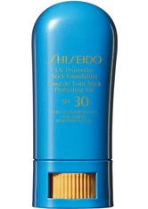 Shiseido Sonnenpflege Sonnenmake-up UV Protective Stick Foundation SPF 30 Ochre 9 g