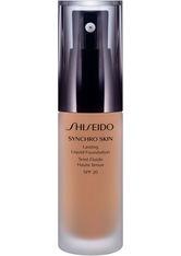 Shiseido Synchro Skin Lasting Flüssigkeits-Foundation LSF 20(30 ml) (verschiedene Farbtöne) - Neutral 4