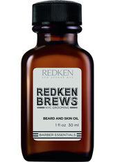 Redken Face Beard And Skin Oil Bartpflege 30.0 ml