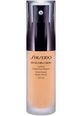 Shiseido Synchro Skin Lasting Flüssigkeits-Foundation LSF 20(30 ml) (verschiedene Farbtöne) - Golden 2