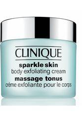 CLINIQUE - Clinique Sonnen und Körperpflege Body Sparkle Skin Body Exfoliating Cream 250 ml - Körperpeeling
