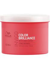 Wella Professionals Haarkur »Invigo Color Brilliance Vibrant Color Mask Fine/Normal«, farbschützend