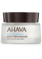 Ahava Time to Hydrate Night Replenisher Normal to Dry Skin 50 ml