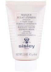 SISLEY - Sisley Masken Masque Éclat Express - Reinigende Maske mit roter Tonerde 60 ml - CLEANSING