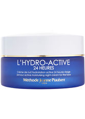 Jeanne Piaubert L'Hydro Active 24 Heures L'Hydro Active 24 Heures Crème de Nuit Hydratation Active 24 Heures Visage 50 ml Nachtcreme