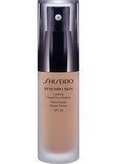 Shiseido Synchro Skin Lasting Flüssigkeits-Foundation LSF 20(30 ml) (verschiedene Farbtöne) - Rose 3