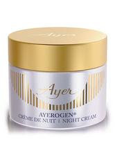 Ayer Produkte Ayerogen - Night Cream 50ml Anti-Aging Pflege 50.0 ml
