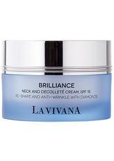 LA VIVANA - LA VIVANA Brilliance Neck & Decolleté Cream SPF 15 50 Milliliter - KÖRPERCREME & ÖLE