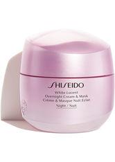 Shiseido White Lucent Overnight Cream & Mask Gesichtsmaske  75 ml