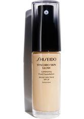 Shiseido Make-up Gesichtsmake-up Synchro Skin Glow Luminizing Fluid Foundation Nr. G2 Golden 2 30 ml