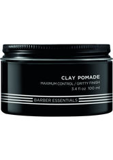 Redken - Brews Clay Pommade  - Styling-Creme - 100 Ml -