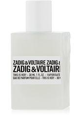 Zadig&Voltaire This is Her Eau de Parfum Spray Eau de Parfum 30.0 ml