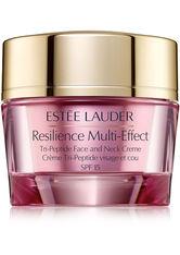 Estée Lauder Gesichtspflege Resilience Multi-Effect Tri-Peptide Face & Neck Creme SPF15 50ml Gesichtscreme 50.0 ml