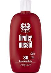 TIROLER NUSSÖL - TIROLER NUSSÖL orig.Sonnenmilch wasserf.LSF 30 - Sonnencreme