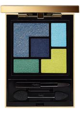 YVES SAINT LAURENT - Yves Saint Laurent Make-up Augen 5 Color Couture Palette Nr. 10 Lumière Majorelle 5 g - LIDSCHATTEN