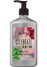 AHAVA - AHAVA Celeate Your Skin Mineral Body Lotion -  500 ml - KÖRPERCREME & ÖLE