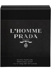Prada L'Homme Perfumed Soap Packung mit 2 x 100 g