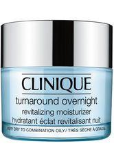 CLINIQUE - Clinique Pflege Exfoliationsprodukte Turnaround Overnight Revitalizing Moisturizer 50 ml - NACHTPFLEGE