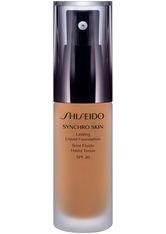 Shiseido Synchro Skin Lasting Flüssigkeits-Foundation LSF 20(30 ml) (verschiedene Farbtöne) - Golden 4