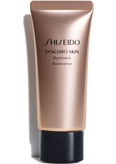 SHISEIDO - Shiseido Make-up Gesichtsmake-up Synchro Skin Illuminator Rose Gold 40 g - Highlighter