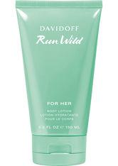 Davidoff Run Wild for Her Body Lotion 150 ml Bodylotion