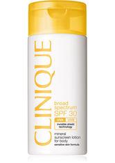 CLINIQUE - Clinique Sonnen und Körperpflege Sonnenpflege Mineral Sunscreen Lotion for Body SPF 30 125 ml - Sonnencreme