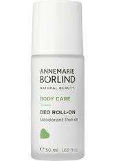 ANNEMARIE BÖRLIND BODY CARE Body Care Deodorant Roll On Deodorant 50.0 ml