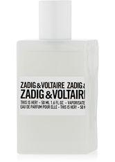ZADIG & VOLTAIRE - Zadig & Voltaire This is Her! EdP, 50 ml - PARFUM