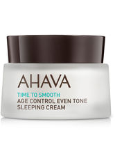 AHAVA Gesichtscreme Time to Smooth Age Control Even Tone Sleeping Cream Nachtcreme 50.0 ml