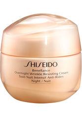 SHISEIDO - Shiseido - Benefiance Overnight Wrinkle Resisting - Nachtpflege - 50 Ml - - NACHTPFLEGE