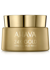 AHAVA - AHAVA 24K Gold Mineral Mud Mask 50 ml - CREMEMASKEN