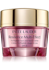 ESTÉE LAUDER - Estée Lauder Resilience Multi-Effect Tri-Peptide Face and Neck Creme SPF15 Normal/Combination Skin 50 ml Gesichtscreme - TAGESPFLEGE