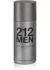 Carolina Herrera 212 For Men 150 ml Deodorant Spray 150.0 ml