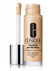 CLINIQUE - Clinique Beyond Perfecting 2-in-1: Foundation + Concealer Flüssige Foundation  30 ml CN 40 Cream Chamois - Foundation