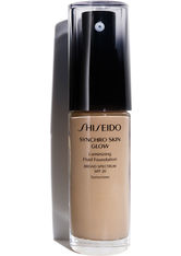 Shiseido Make-up Gesichtsmake-up Synchro Skin Glow Luminizing Fluid Foundation Nr. N4 Neutral 4 30 ml