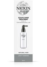 NIOXIN 3-teilige System 1 Kopfhaut- und Haarkur für natürliches Haar mit leichter Ausdünnung 100ml