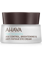 AHAVA Augenpflege Time To Smooth Age Control Brightening & Anti-Fatigue Eye Cream Augencreme 15.0 ml