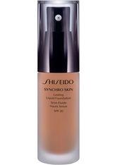 Shiseido Synchro Skin Lasting Liquid Foundation SPF 20 R4 / Rose 4 30 ml Flüssige Foundation