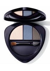 Dr. Hauschka Augen Eyeshadow Trio Lidschatten Palette  4.4 g Nr. 01 - Saphire