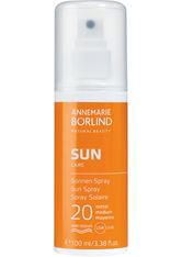ANNEMARIE BÖRLIND - ANNEMARIE BÖRLIND Sonnenpflege Sun Care Sonnenspray LSF 20 100 ml - SONNENCREME
