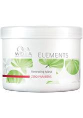 Wella Professionals - Elements Aufbauend  - Haarmaske - 500 Ml -