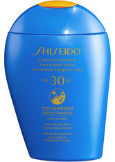 Shiseido Global Sun Care Expert Sun Protector Face & Body SPF 30 Sonnenlotion  150 ml