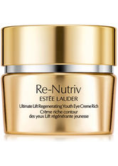 ESTÉE LAUDER - Estée Lauder - Re-Nutriv Ultimate  Lift Regenerating Youth Rich Eye Creme - Augencreme - 15 Ml - - AUGENCREME